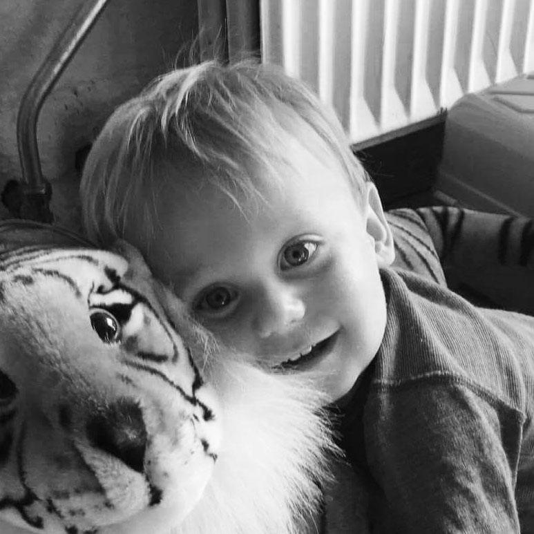Min engle-søn Hugo.