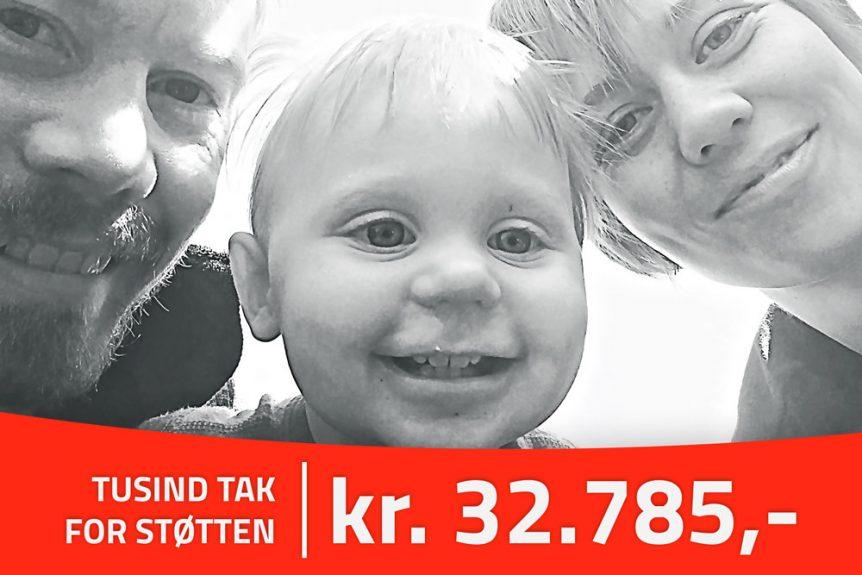 Peter Rosendahl status på indsamling på gogetfunding og mobilepay