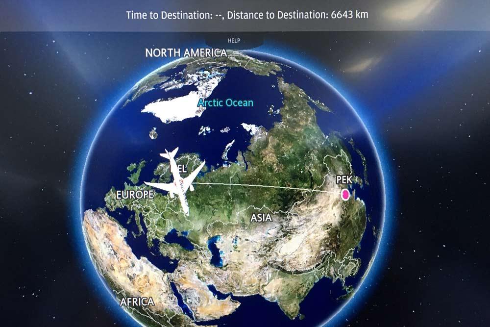 Peter Rosendahl Blog Rejsen med fly til Beijing distance