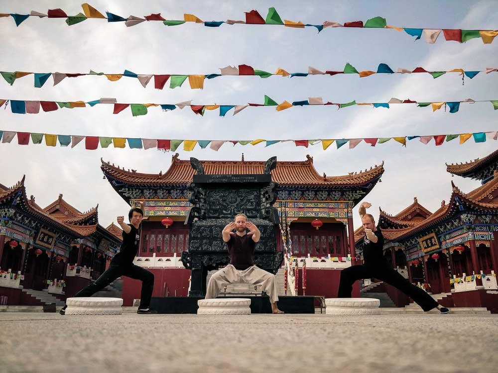 Peter Rosendahl Xinglong kungfu school tempel taichi
