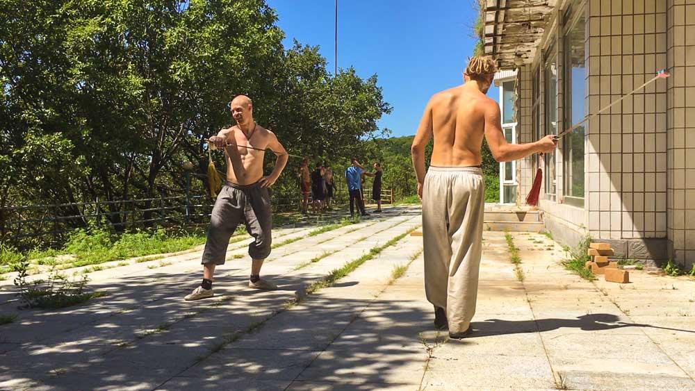 Peter Rosendahl Blog Tai Chi Sværd træning